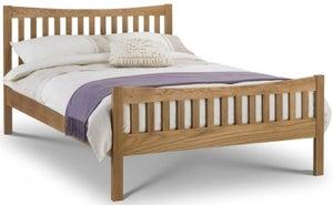 Julian Bowen Bergamo Oak Bed