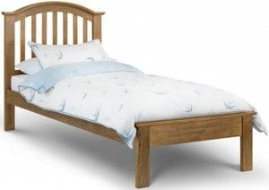Julian Bowen Olivia Light Oak Bed