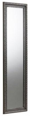 Julian Bowen Allegro Pewter Rectangular Mirror - 38cm x 128cm
