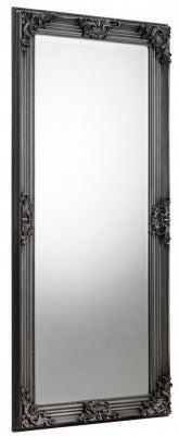 Julian Bowen Rococo Pewter Rectangular Mirror - 80cm x 170cm