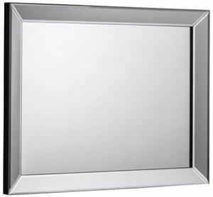 Julian Bowen Soprano Rectangular Wall Mirror - 80cm x 60cm