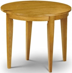 Julian Bowen Consort Round Flip Top Dining Table
