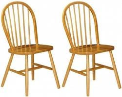 Julian Bowen Windsor Pine Dining Chair (Pair)