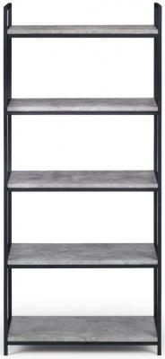 Julian Bowen Staten Faux Concrete Tall Bookcase