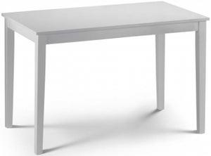 Julian Bowen Taku White Dining Table