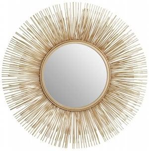 Barnet Gold Rods Wall Mirror