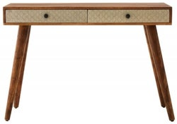 Esher Natural Mango Wood Console Table