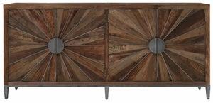 Virginia Natural Wood 4 Door Sideboard
