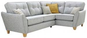 Lebus Ashley Fabric Sofa Chaise