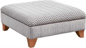 Lebus Athena Fabric Footstool