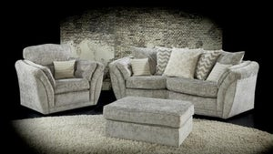Lebus Izzy Hardwick Fabric Sofa Suite