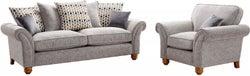 Lebus Vegas 3+1 Seater Fabric Sofa