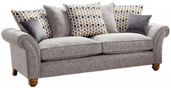 Lebus Vegas 3 Seater Fabric Sofa
