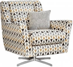 Lebus Vegas Fabric Swivel Chair