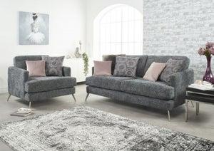 Lebus Venice 2+1 Seater Fabric Sofa