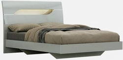 Affinity Cool Grey High Gloss Bed
