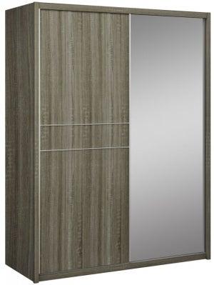 Lansbury Havana Oak 2 Door 1 Mirror Sliding Wardrobe