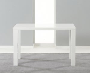 Mark Harris Ava White High Gloss Small Dining Table