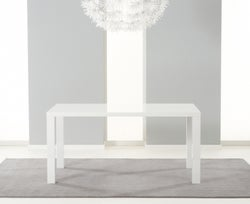 Mark Harris Ava White High Gloss Medium Dining Table