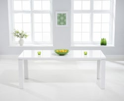 Mark Harris Ava White High Gloss Extra Large Dining Table