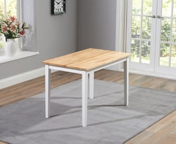 Mark Harris Chichester Oak and White Dining Table
