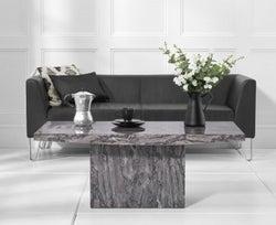 Mark Harris Coruna Grey Marble Coffee Table
