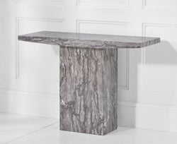 Mark Harris Coruna Grey Marble Console Table