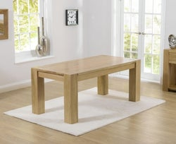 Mark Harris Tampa Oak Extra Large Dining Table