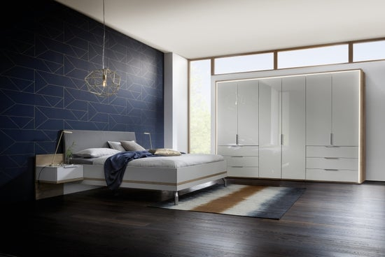 Nolte Concept Me 100 Frosted Glass Front Planning Wardrobe