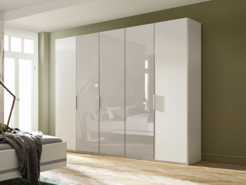 Nolte Concept Me 200 Frosted Glass Front Wardrobe