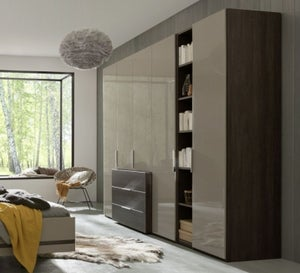 Nolte Concept Me 220 Combi Wardrobe with Projecting Drawer Block