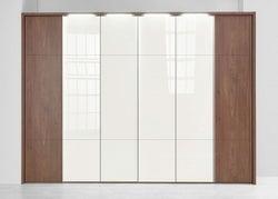 Nolte Marcato2.3 - Version 3 Wardrobe with 4 Horizontal Lattice Bar