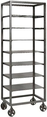 NORDAL Grey Iron Tall Bookcase