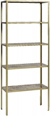 NORDAL Jungle Beige Marble Bookcase