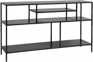 NORDAL Space Black Wide Bookcase