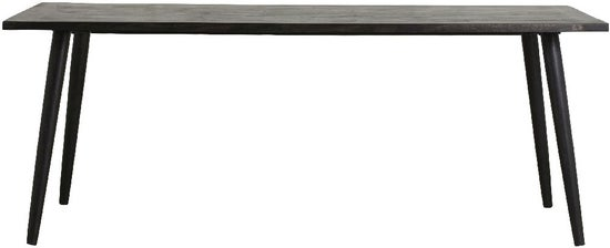 NORDAL Hau Black Mango Wood Dining Table