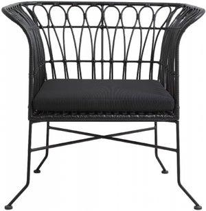 NORDAL Alba Black Garden Lounge Chair
