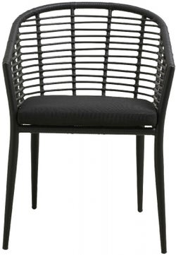 NORDAL Salix Black Garden Chair