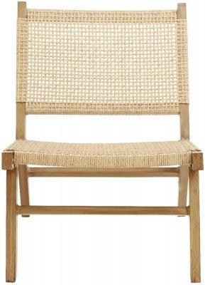 NORDAL Vasai Natural Garden Lounge Chair