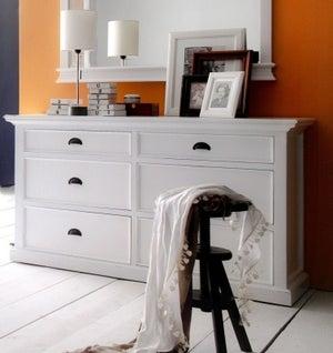 Nova Solo Halifax White Dresser