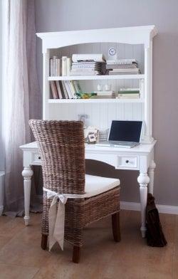 Nova Solo Provence White Desk
