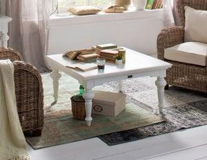 Nova Solo Provence White Square Coffee Table