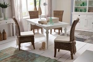 Nova Solo Provence White Dining Table