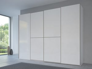 Rauch 20UP Front 1A Sliding Wardrobe with Matt White Front