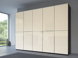 Rauch 20UP Front 2A Wardrobe with Matt Glass Front