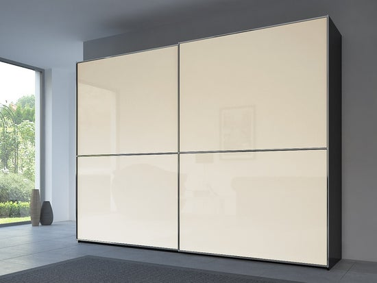 Rauch 20UP Front 2A Sliding Wardrobe with Matt Glass Front