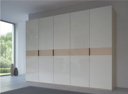 Rauch 20UP Front 4A Wardrobe with High Gloss White Front