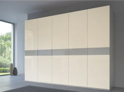 Rauch 20UP Front 4A Wardrobe with Matt Glass Front