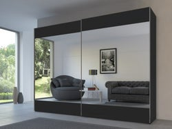 Rauch 20UP Front 6A Sliding Wardrobe with Mirror Front