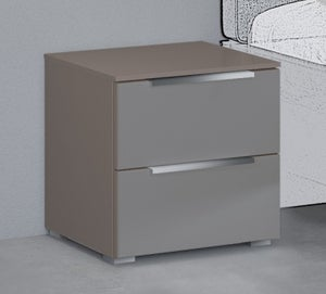Rauch 20UP Bedside Cabinet with Carcase Front